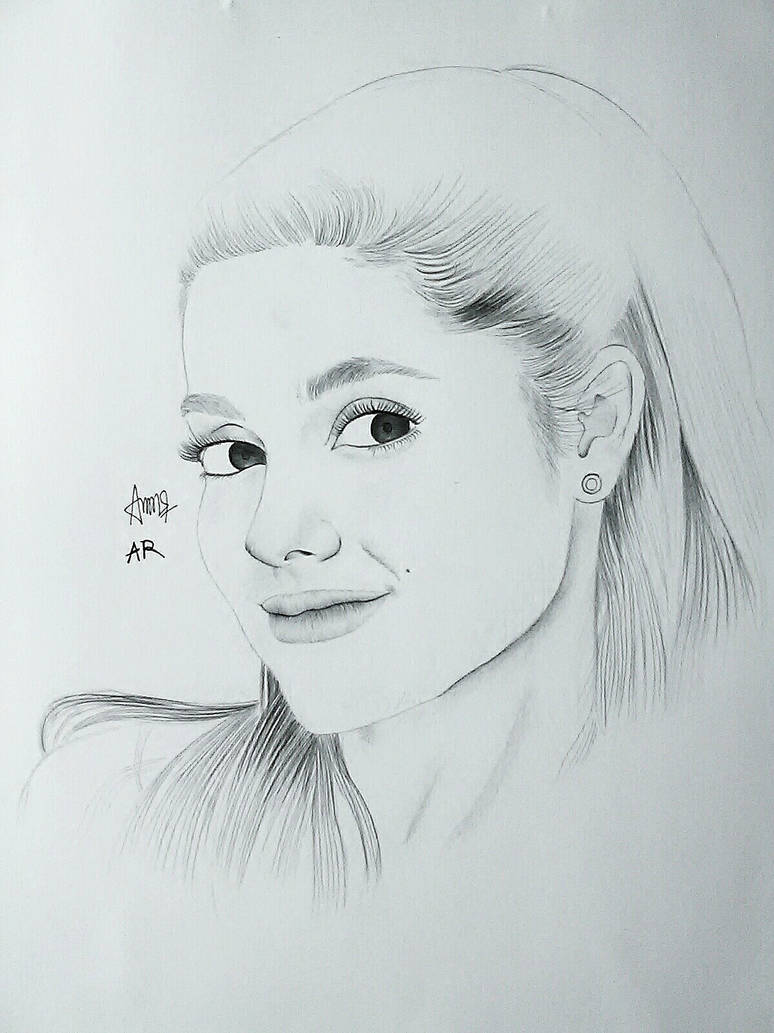Ariana Grande Simple Sketch Ariana Grande Songs
