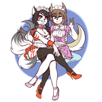Maid Duo Zoey and Nina