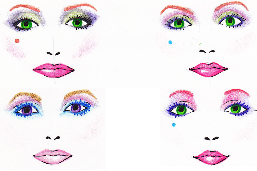 Jem inspired makeup by neon fugue on deviantart jem inspired makeup by neon fugue ccuart Images