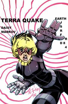 Terra TEEN TITANS Quake S.H.I.E.L.D.