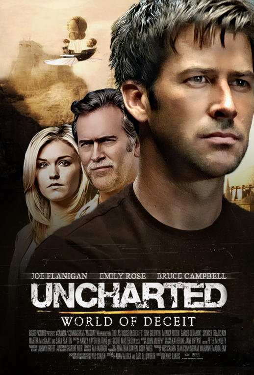 Uncharted World Of Deceit Movie Poster By Thepricelessmors On