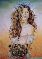 August vase by prinsepolo