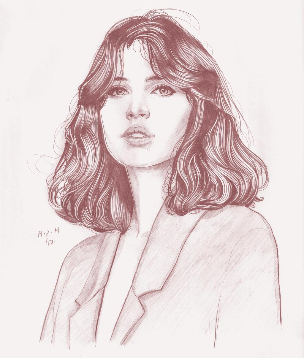Felicity Jones portrait