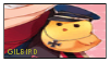 Gilbird Stamp. by The-Unf0rgiv3n