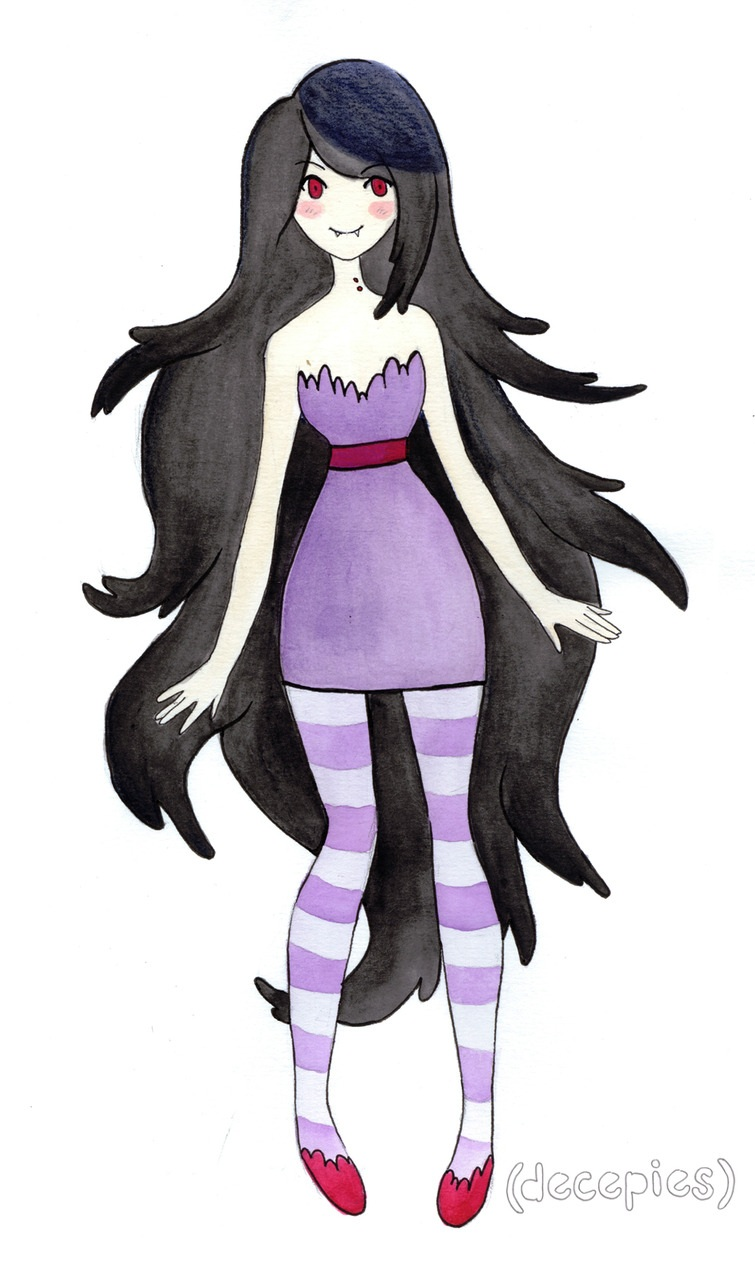 Marceline, the Vampire Queen by decep