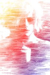 Scarlett Johansson by shadavar