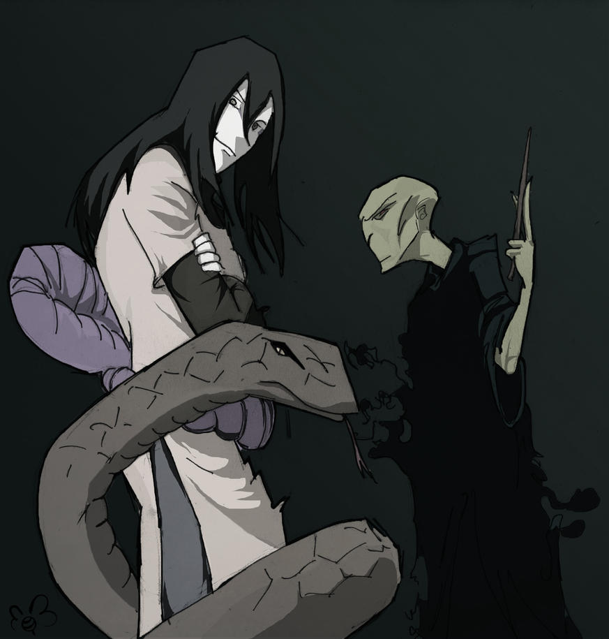 Ultimate Snake Charmers (Orochimaru and Voldemort) by ...