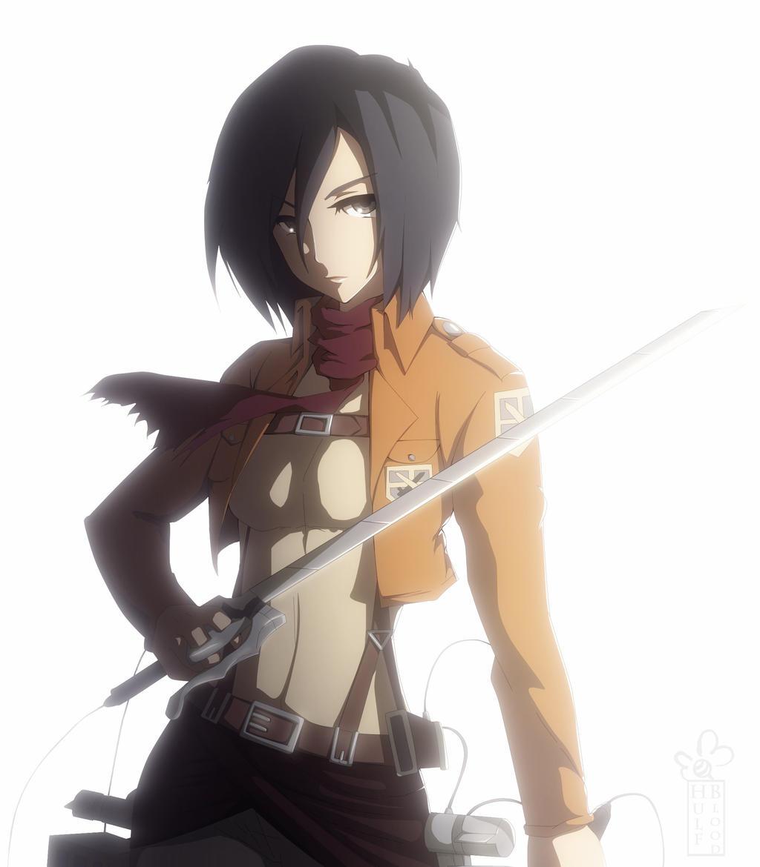 Mikasa Ackerman by Bmbl13
