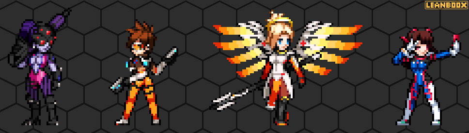 Overwatch (Characters 1) Sprite