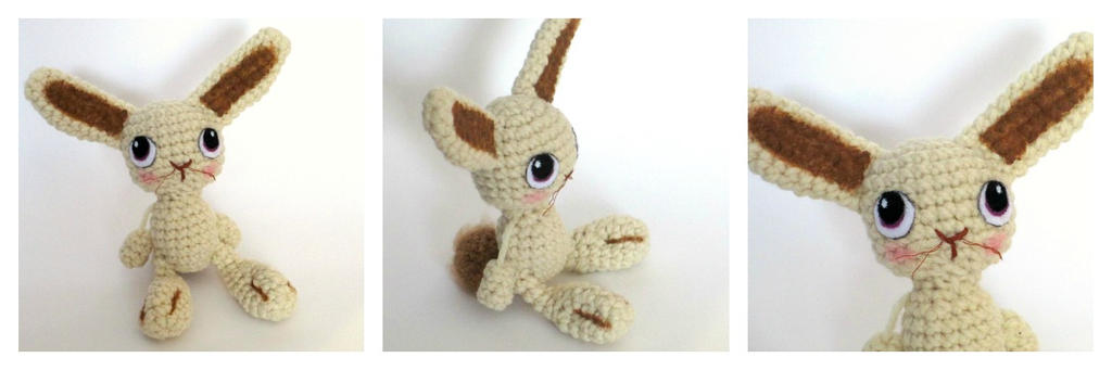 Amigurumi Crochet Bunny Rabbit by Windowsillcharms on ...