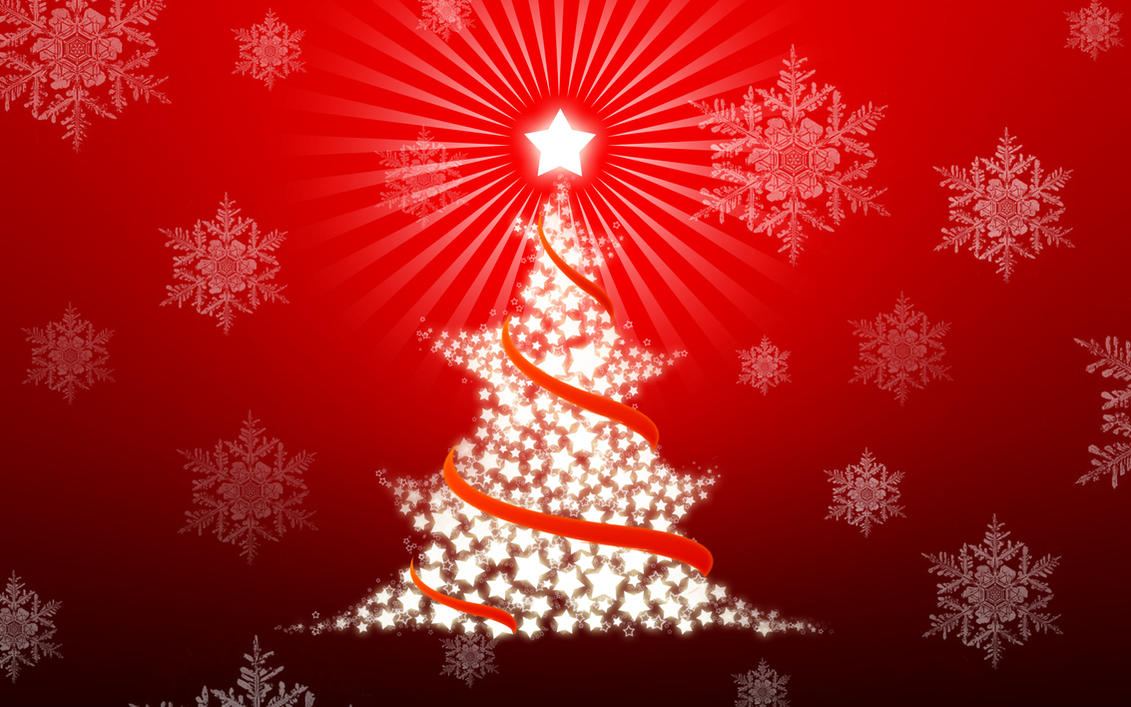 christmas tree wallpaperthink0 on deviantart