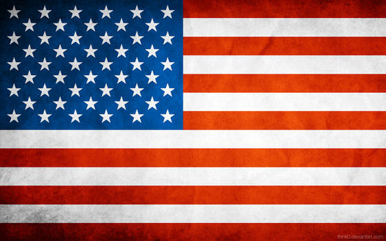 USA Grungy Flag