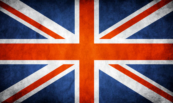 Great Britain UK Grunge Flag
