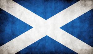 Scotland Grungy Flag