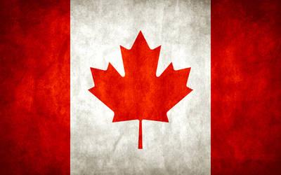 Canada Grungy Flag