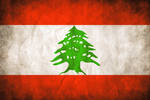 Lebanese Grungy Flag