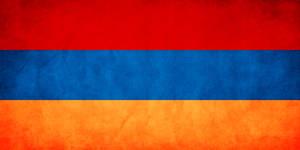 Armenia Grungy Flag