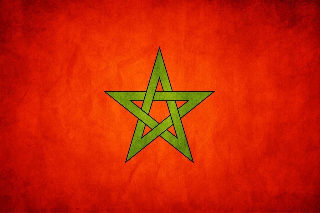 مواقيت الصلاة فى الدول العربية و بعض الأوروبية إضغط بالمازس  Marocco_Grunge_Flag_by_think0