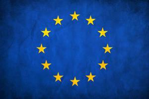European Union Grunge Flag by think0