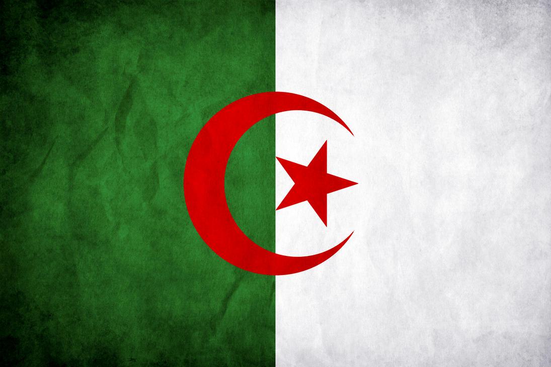 صورة خلفية علم الجزائر