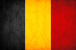Belgium Grunge Flag by think0