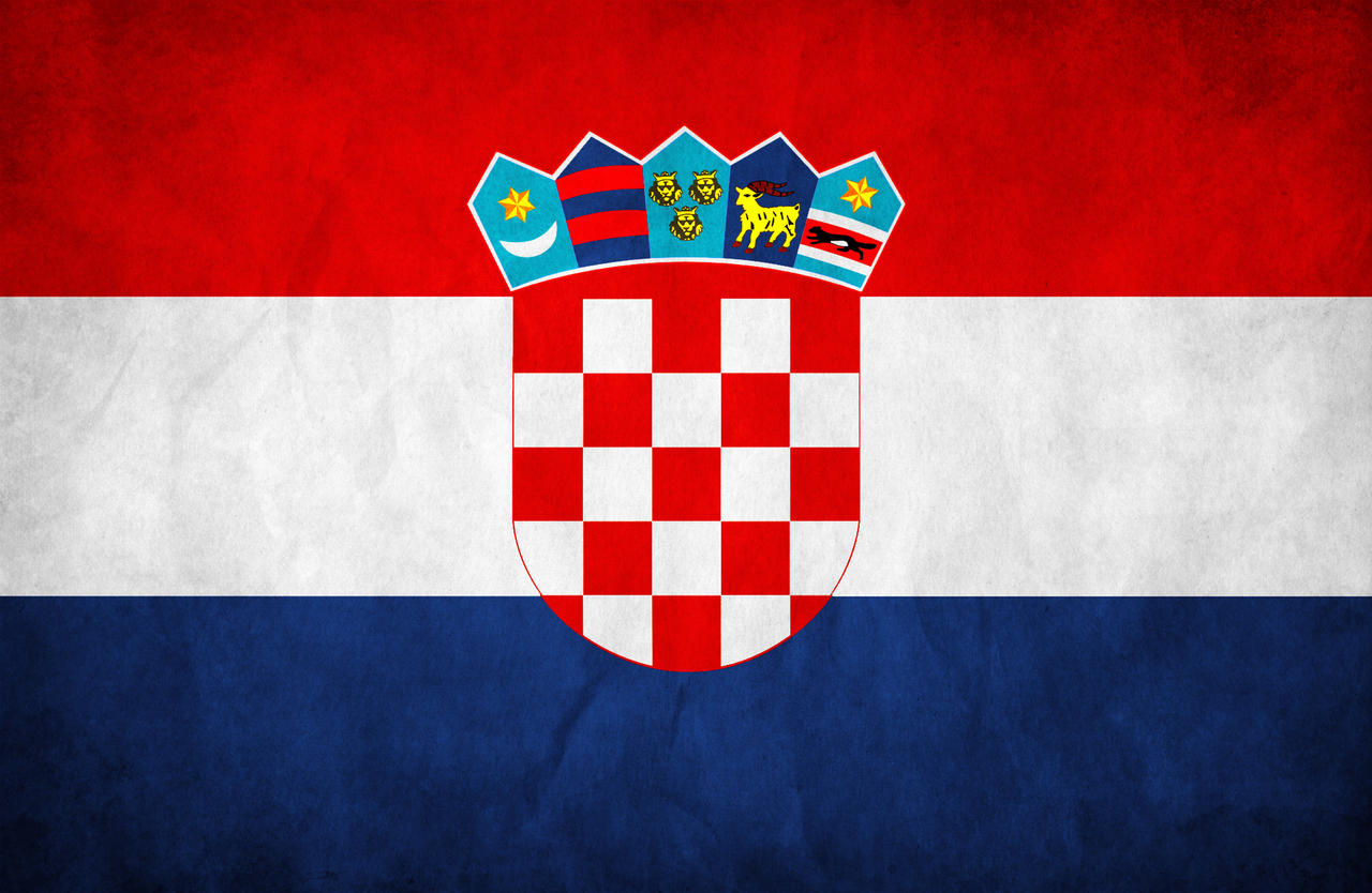 Croatia Grunge Flag by think0 on DeviantArt