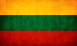 Lithuania Flag Grunge