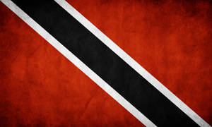 Trinidad Grunge Flag
