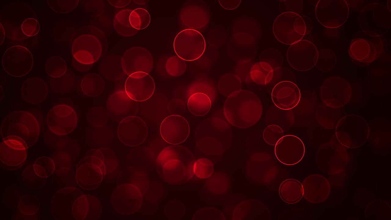 Red Bokeh that resembles blood by think0