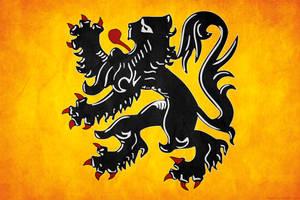 Flanders Grunge Flag