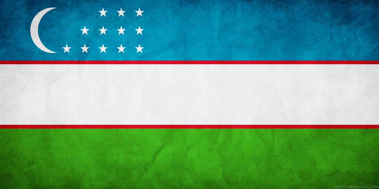 Uzbekistan Flag Grunge By Think0 On Deviantart