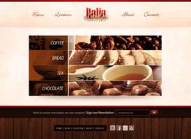 Italia Caffetteria Website
