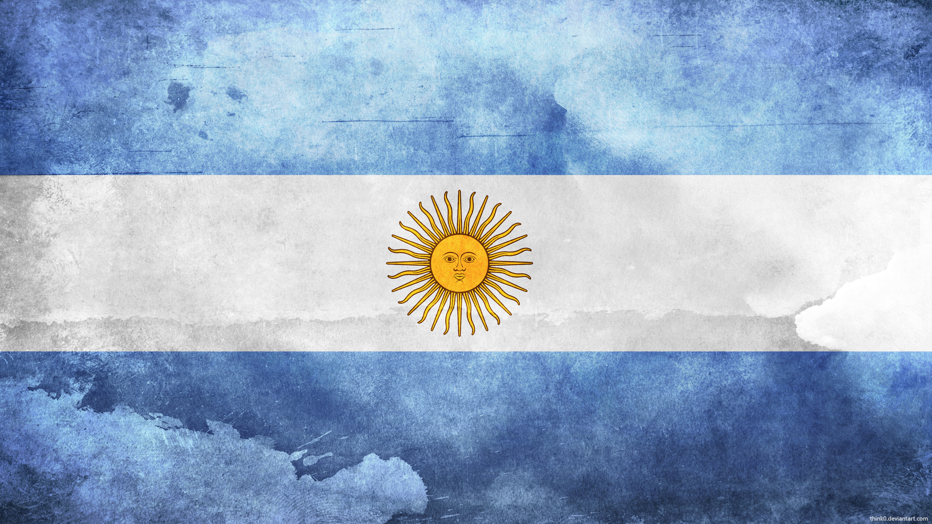 The background of the country of argentina