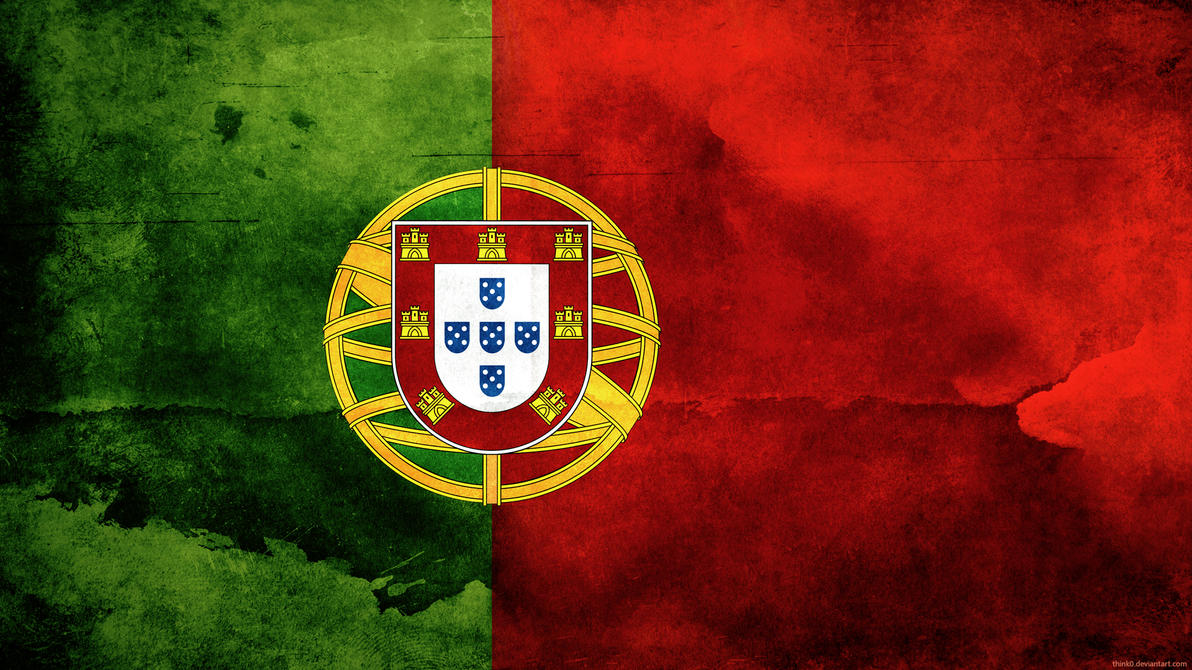 Portugal Flag by think0