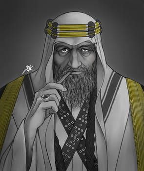 Saudi wise Man