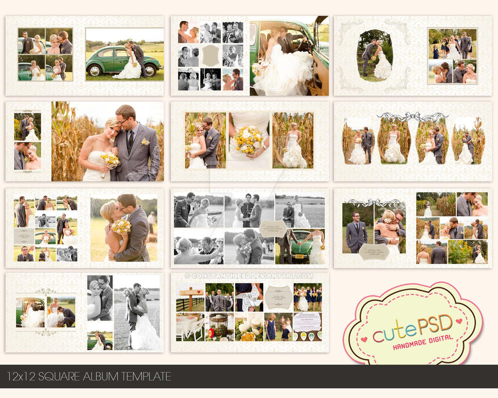 Photoalbumtemplate explore photoalbumtemplate on deviantart constantine80 5 2 12x12 square wedding album template by constantine80 pronofoot35fo Gallery