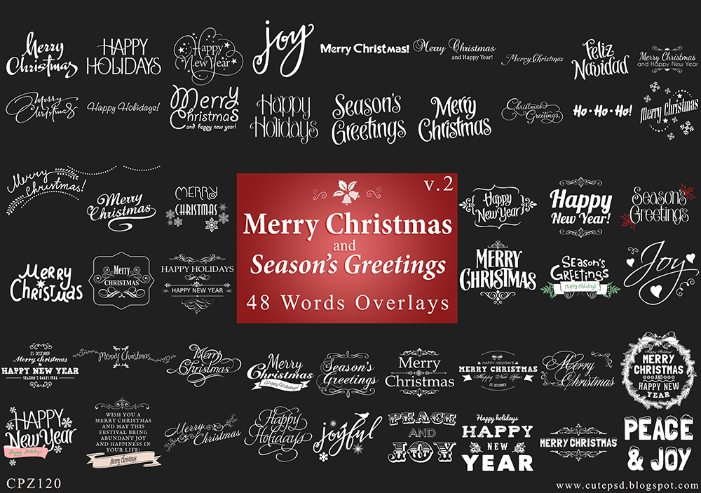 CPZ120 CHRISTMAS OVERLAY BUNDLE V2 by constantine80