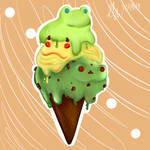 Froggo Ice Cream Stack