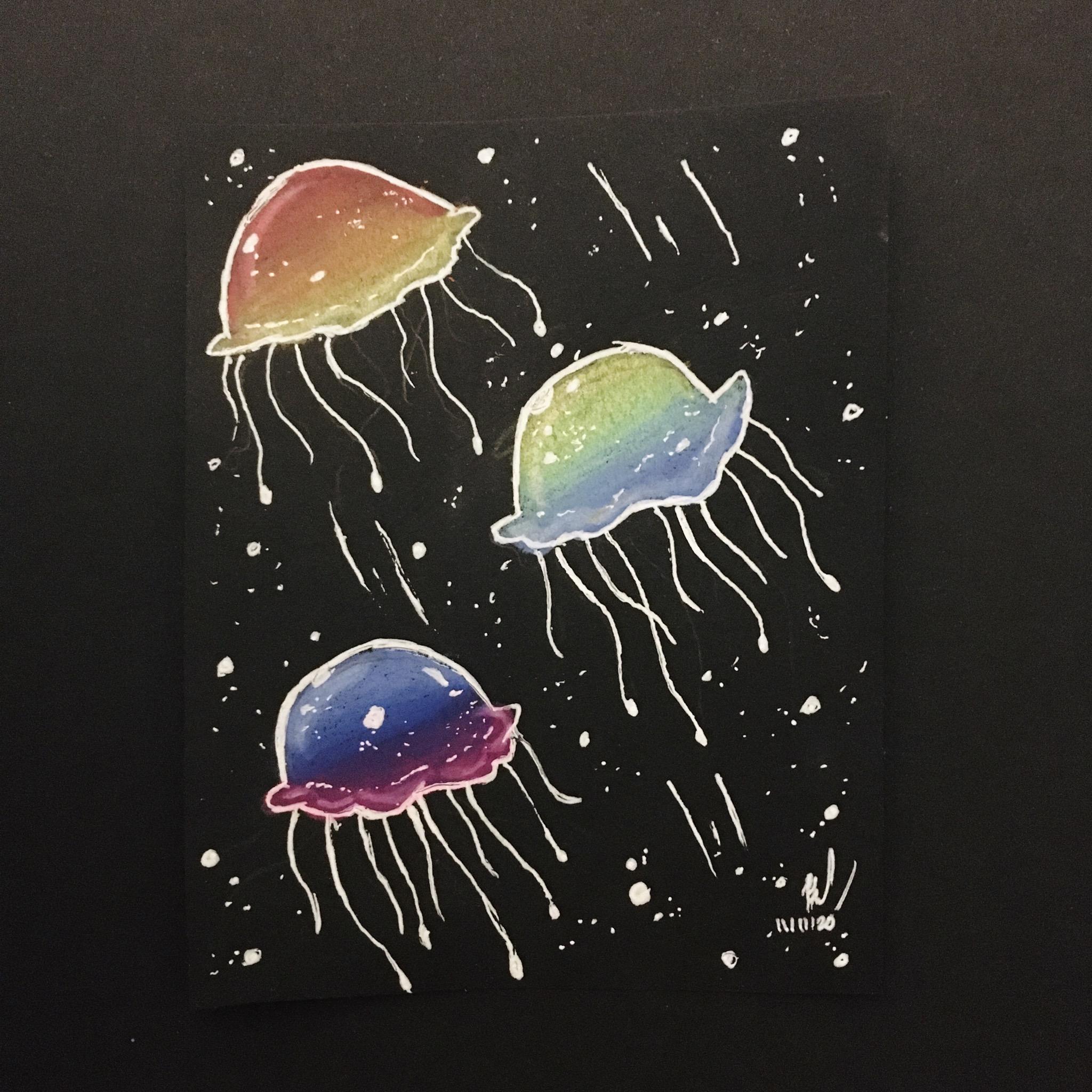 Mini Rainbow Jellies
