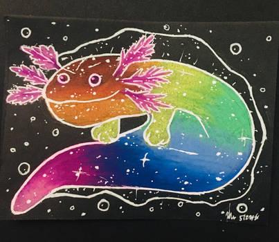 Rainbow Axolotl