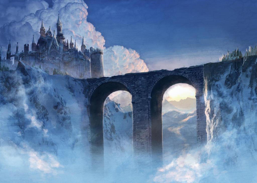 snowy castle by Jukeboix