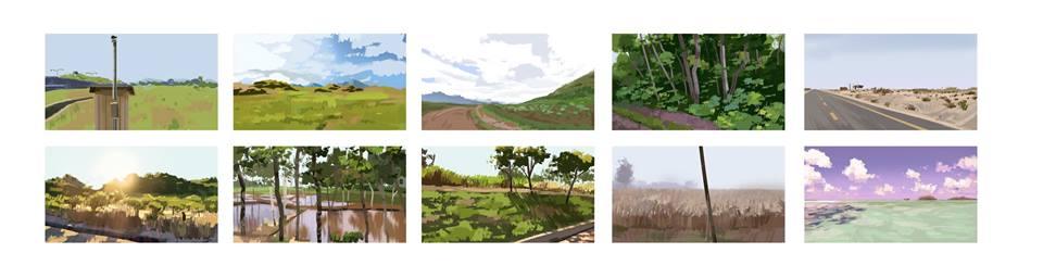 Landscape thumbnail speedpaint exercice #1 by Jukeboix