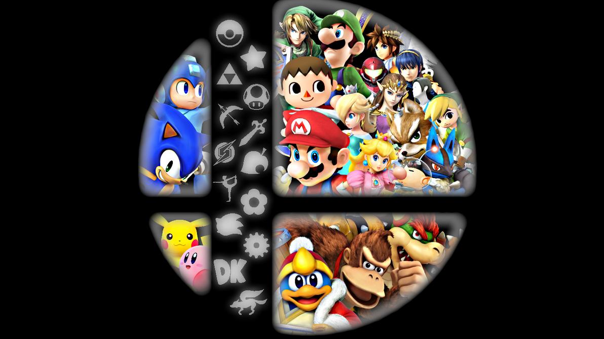 Super Smash Bros Wii U Logo Wallpaper By JaredHaj