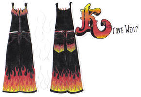 Flame Krave Wear by fightingtheundertow