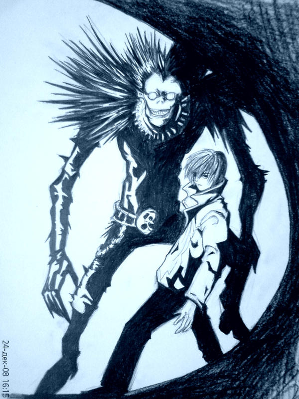 Death Note by 1QueTeam1SoulFly