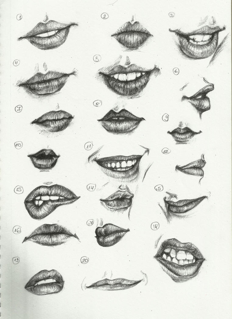 how to draw lips This was a very helpful tutorial (I think, I was too