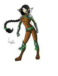 Elven Ranger Aliera