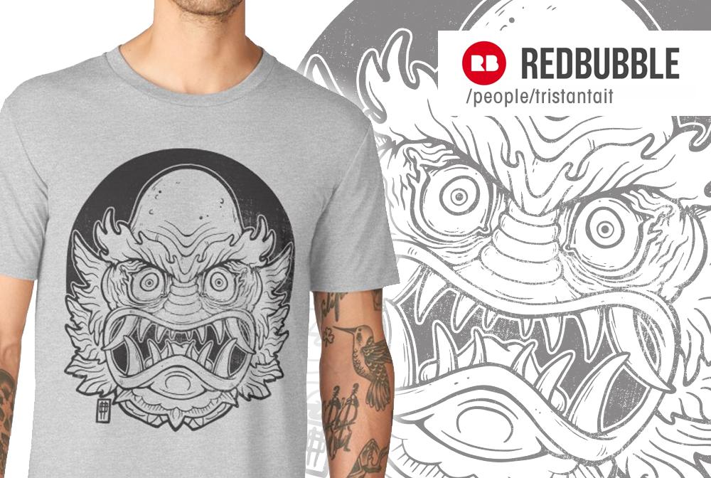 RedbubbleSampler Creature by MrTristan