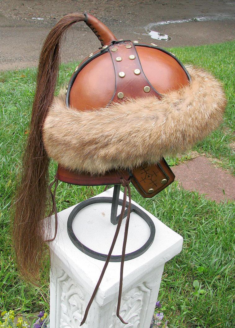 Mongol Helm by Dmitriwolf