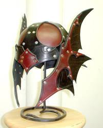 Custom Dragon Helm by Dmitriwolf